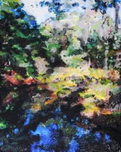 'Creek', Tasmania. Mixed media on canvas 2011 8