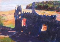 Laugherne Castle with Estuary