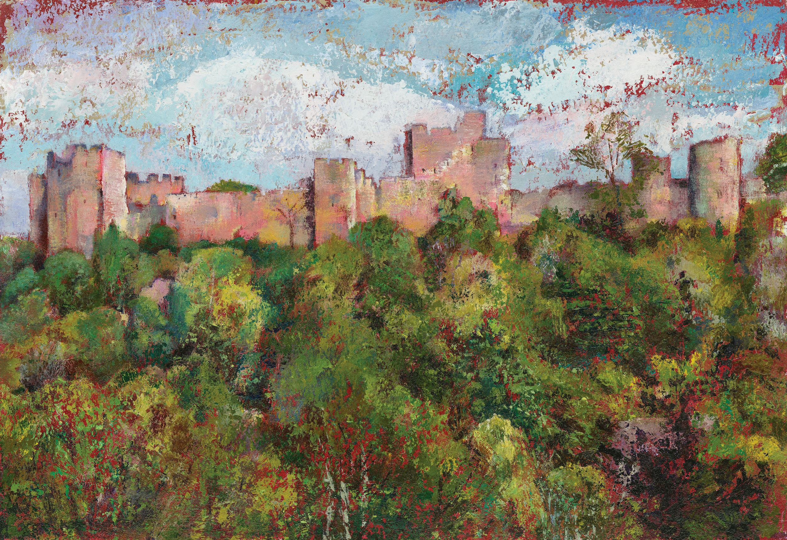 'High Power', Ludlow Castle. Kate Cochrane